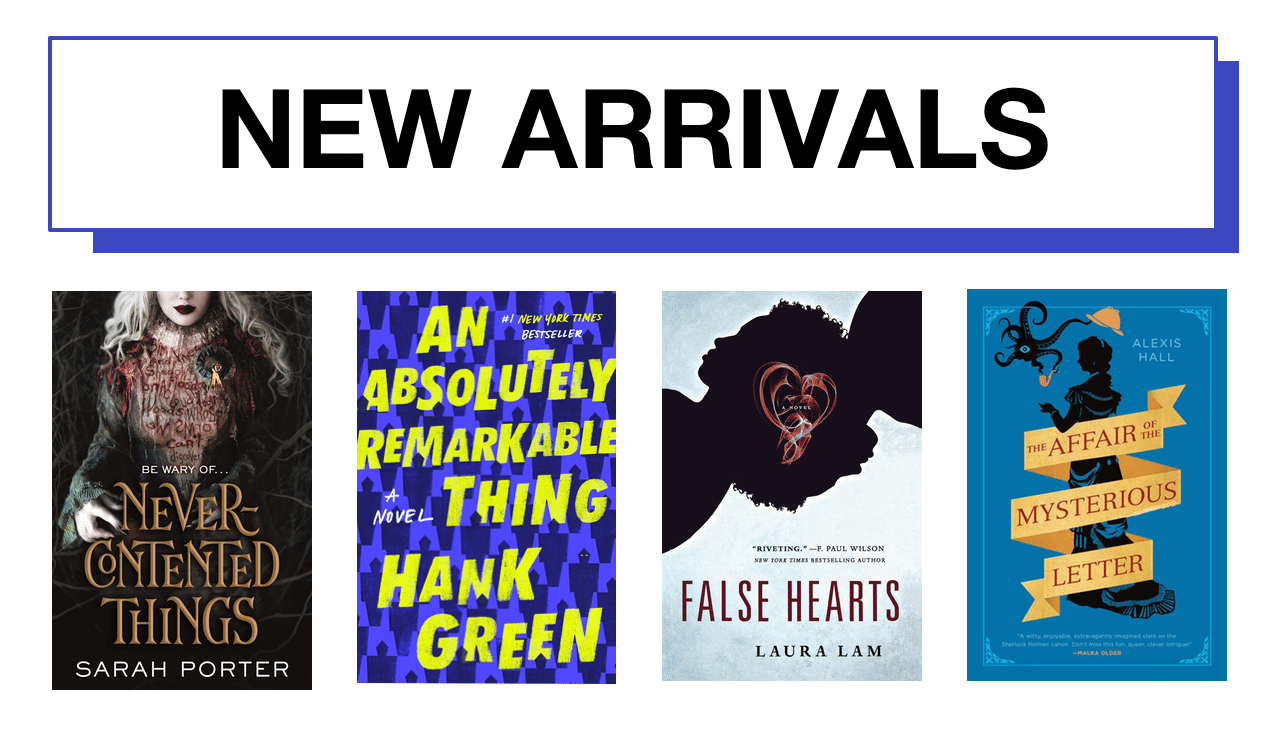 New fiction arrivals — January 2021