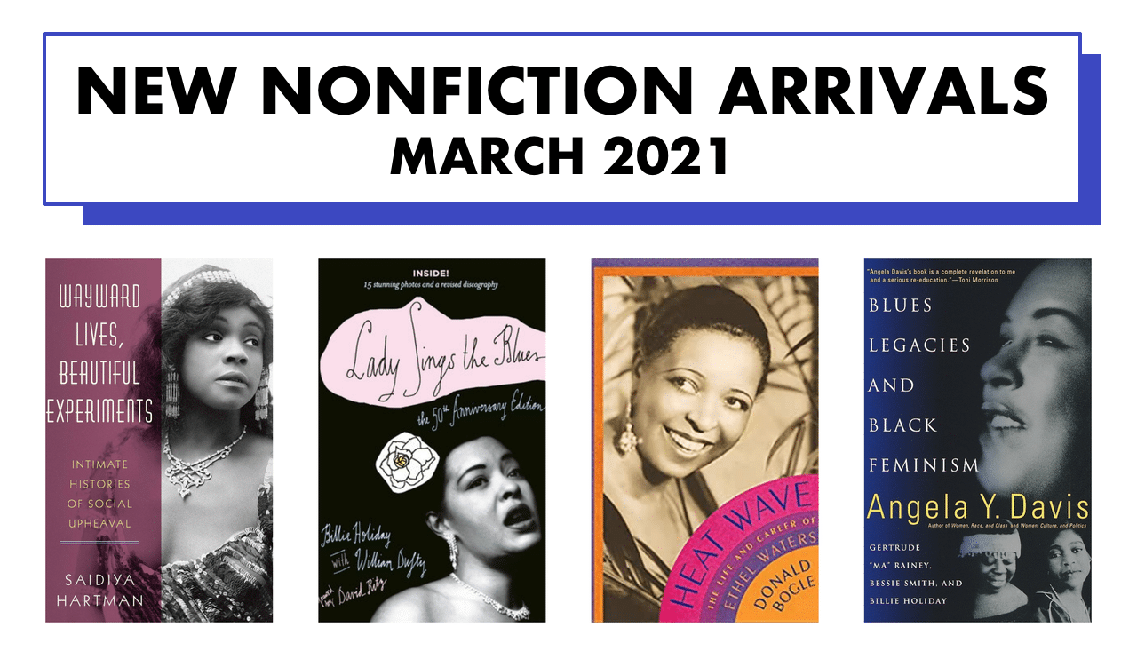 Nonfiction arrivals — March 2021