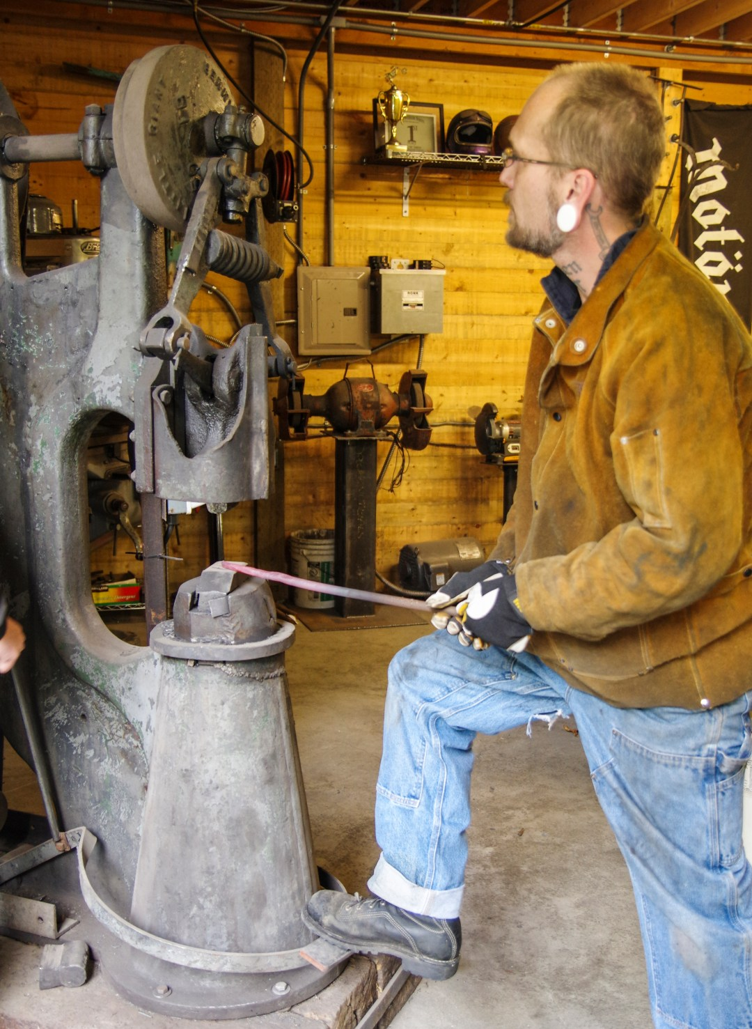 Welding Classes with Jeremy Loerch