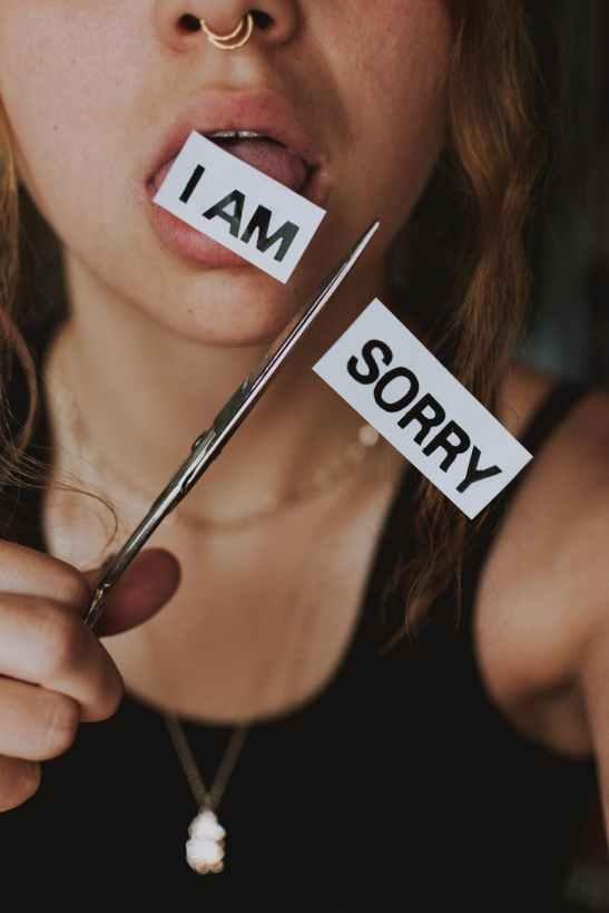 I'm the I'm sorry girl