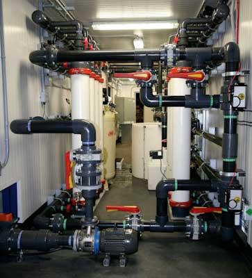 Reverse Osmosis/Ultrafiltration Mosaic Potash Mine Site