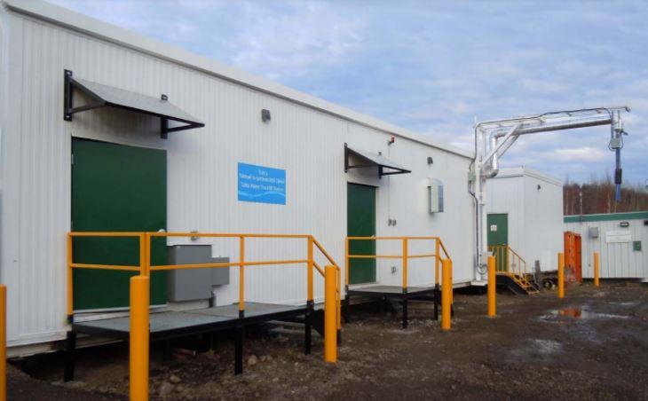 Truck fill Station Tulita Water Treatment Plant