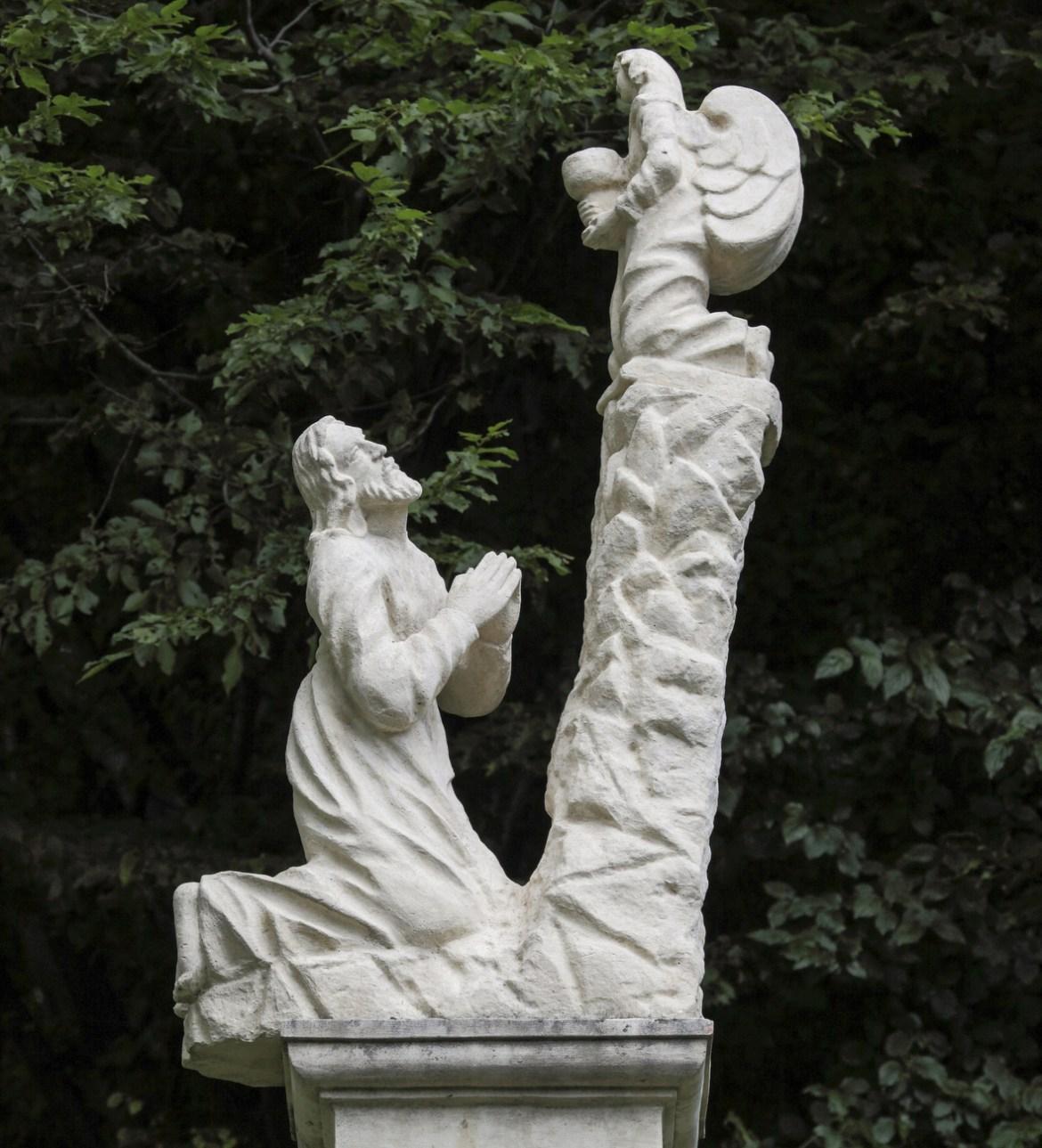 Marijin put: Žalosna otajstva, I. postaja - Molitva i krvavi znoj Gospodina našega Isusa Krista