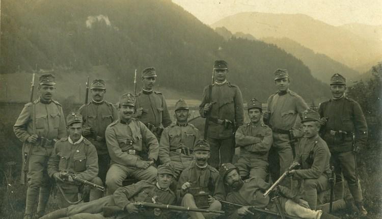 Soldati, obiteljski arhiv Z. Franc.