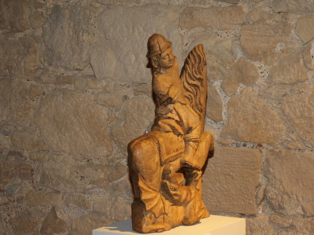 Sv. Juraj ubija zmaja, nepoznato podrijetlo, nepoznato razdoblje (XVIII. st. ?)