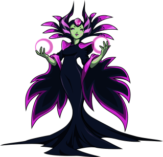The Enchantress (Image credit to Yacht Club Games, retrieved from their Shovel Knight press kit)