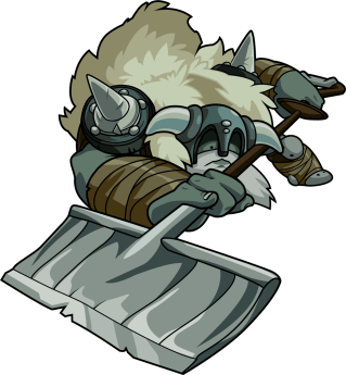 Polar Knight (Image credit to Yacht Club Games, retrieved from their Shovel Knight press kit)