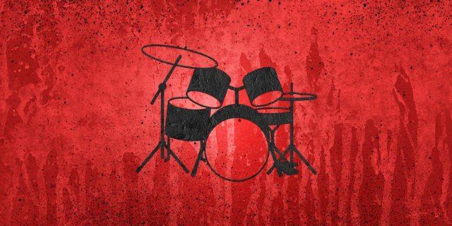 Drum-Set-red