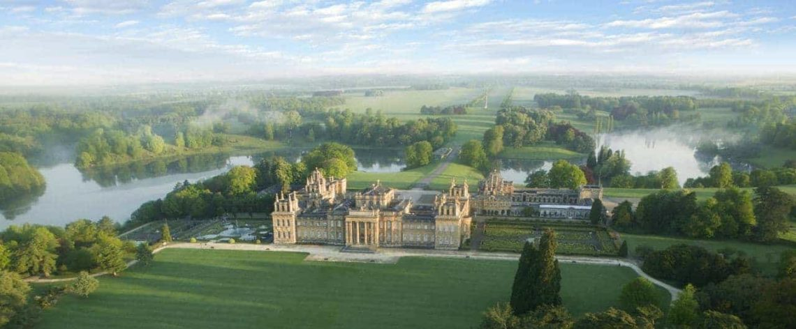 Blenheim Palace South Lawn Aerial-min