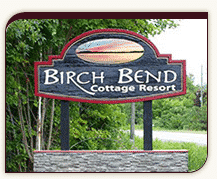 Birch Bend Road Sign