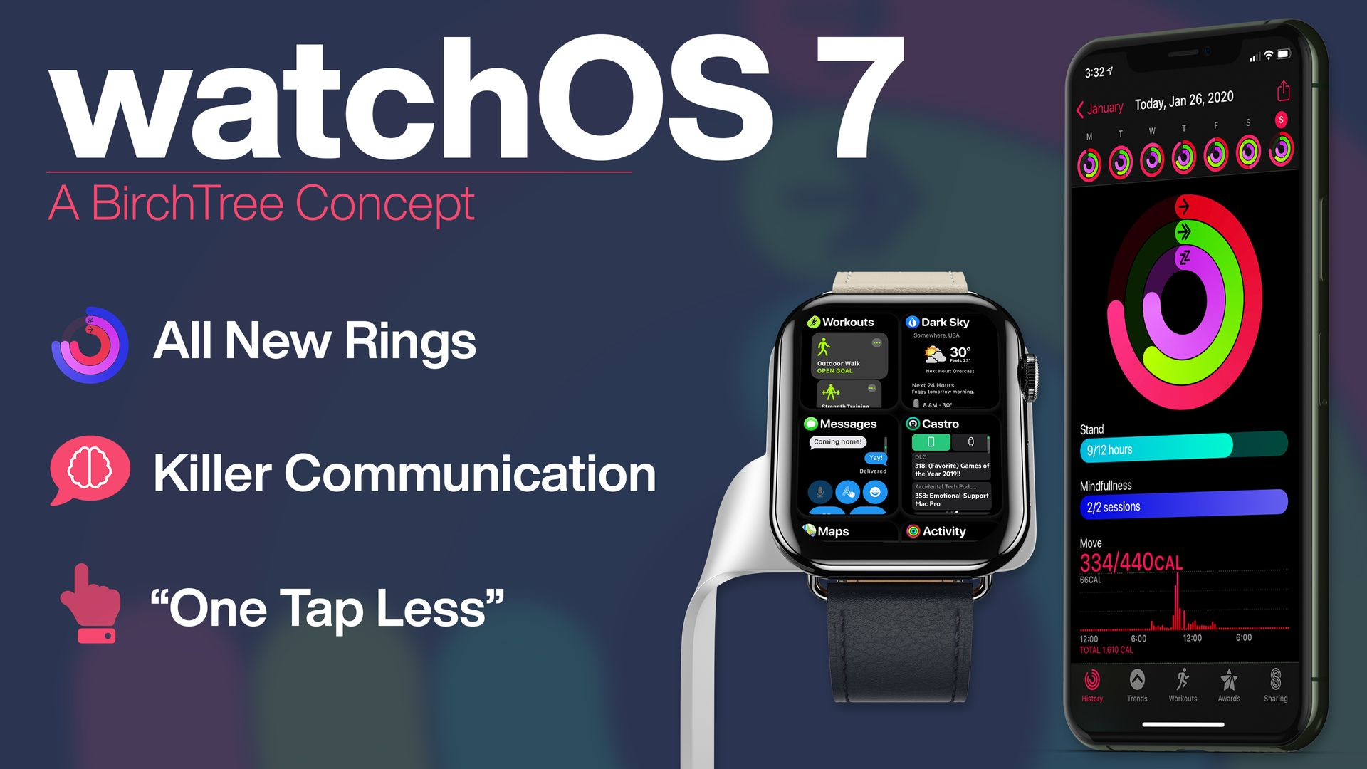 watchOS 7: A BirchTree Concept