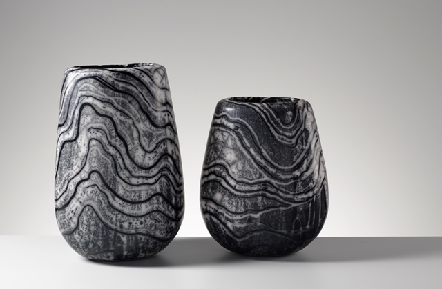 Moyra Stewart Lewisian Gneiss urns (photo Shannon Tofts)