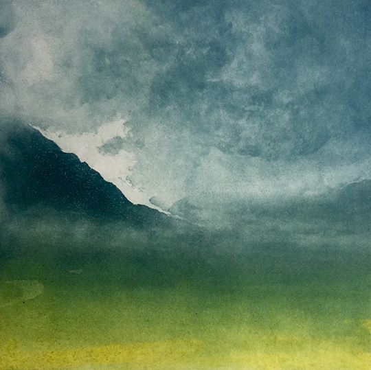 Gregory Moore - Glencoe (etching)