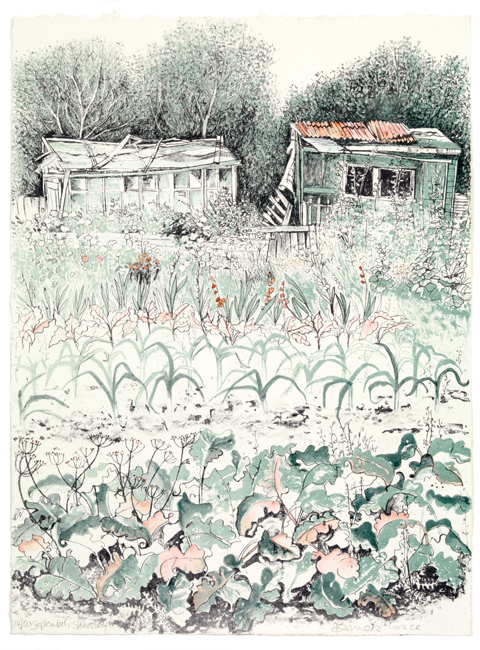 Pamela Grace - September, Stokesley (lithograph)