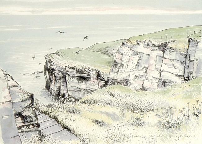 Pamela Grace - Northern Summer (lithograph)