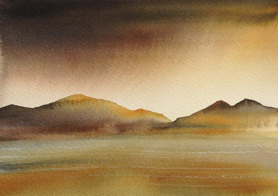 Ian Scott Massie. Loch Linnhe. 30 x 40cm