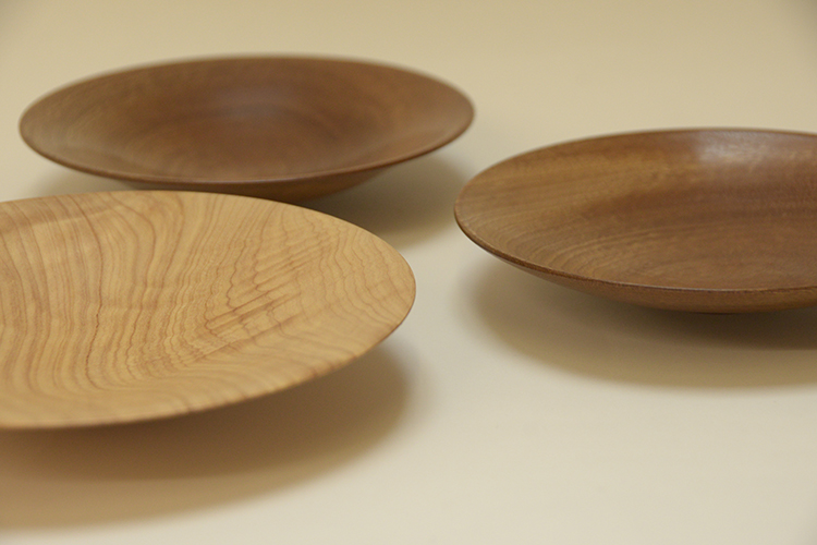 Tony King 168-162-161 Utile and Monterey Pine plates