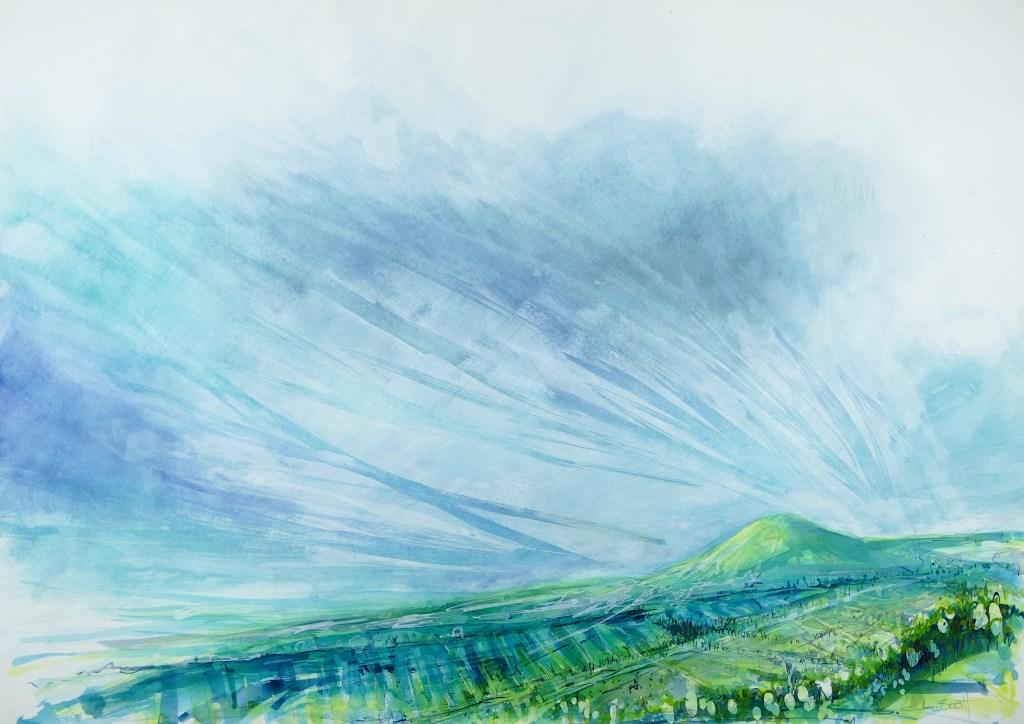 Libby Scott, Depth of Field, 80 x 110cm