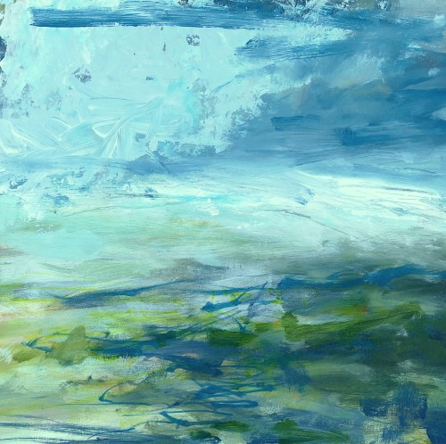 Title Libby Scott, Terrain and Tracing Tracks, 30 x 30cm Caption