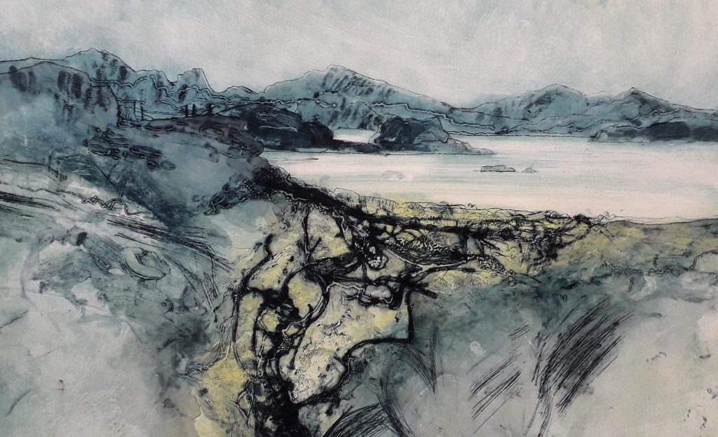 Liz Myhill. A Walk in the Hebrides X