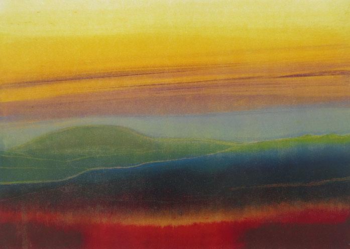 Ian McNicol. Greenhill (monotype)