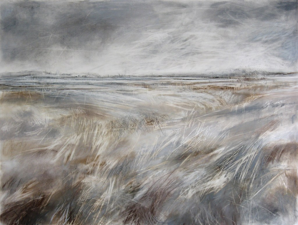Wild-is-the-Wind-Janine-Baldwin-pastel-charcoal-and-graphite-on-paper-59-x-79cm