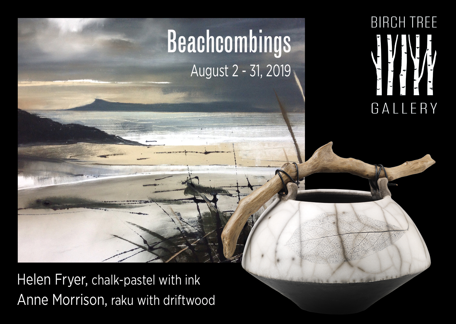 Birch Tree Gallery - ad Beachcombings