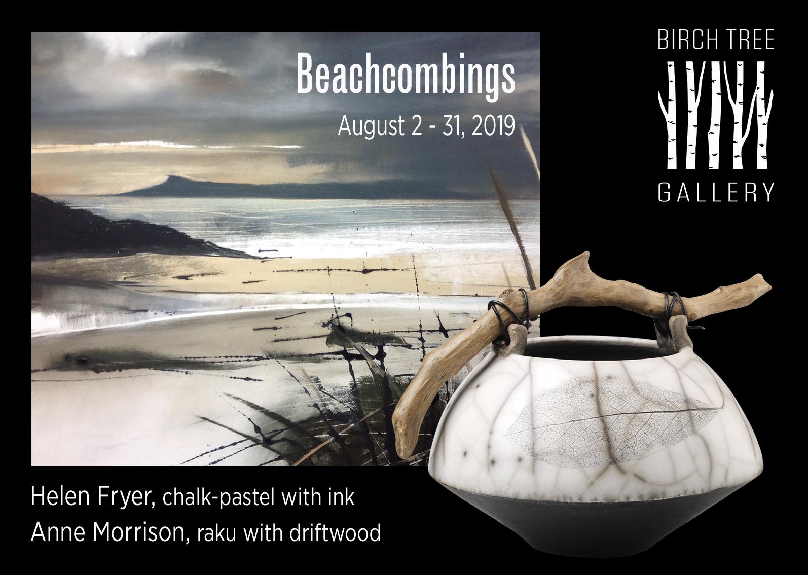 Birch Tree Gallery - ad Beachcombings