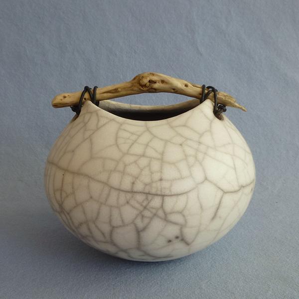 Anne Morrison. Little squat crackle pot