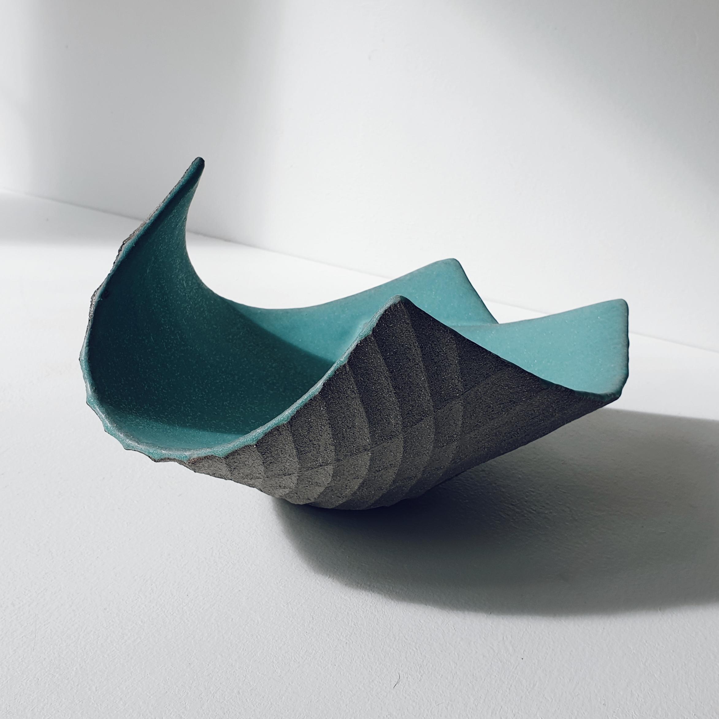 Michele Bianco. Flight vessel (sea green, overlap)