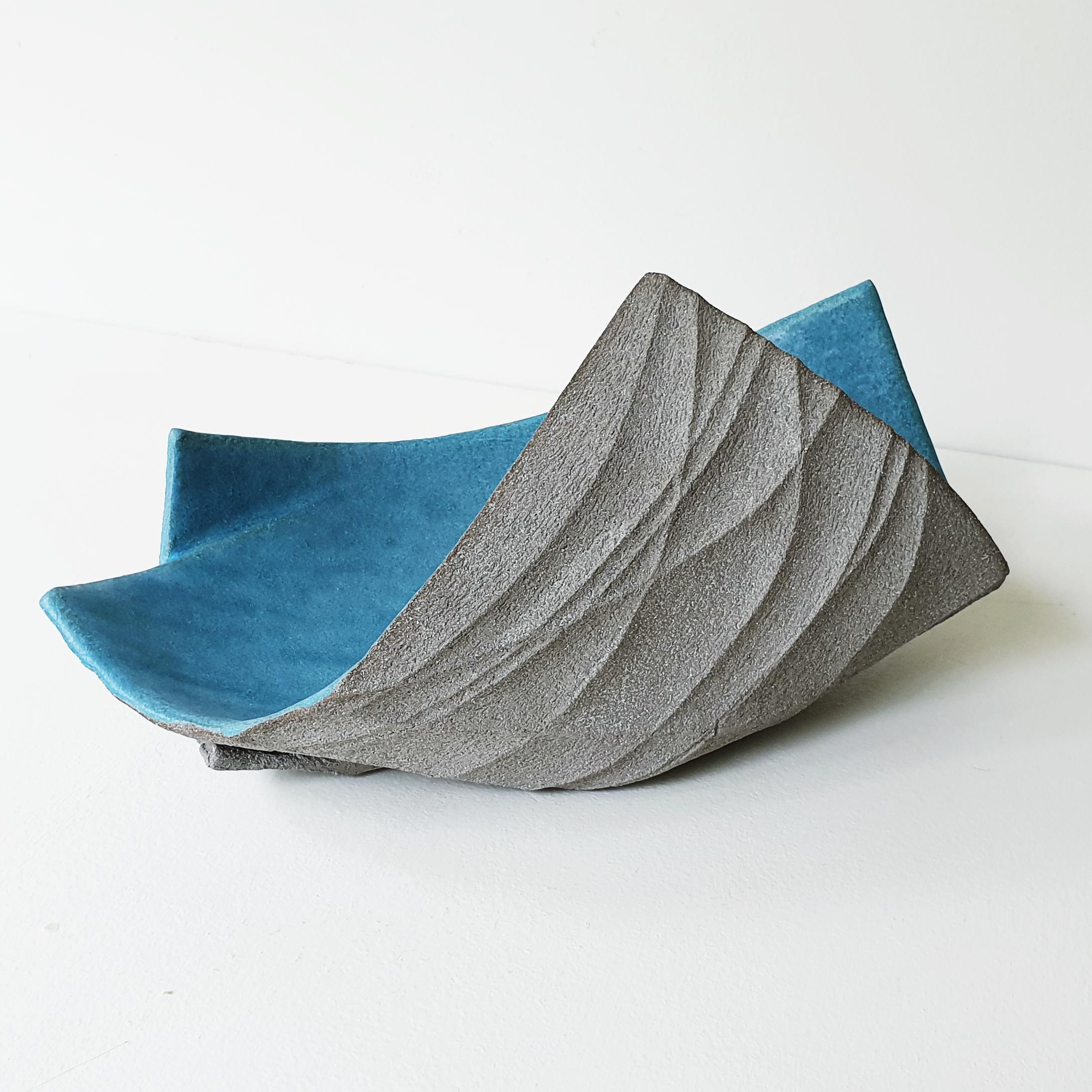 Michele Bianco. Flight vessel (sky blue)