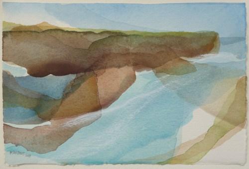 Uyea, Watercolour on paper 2018 (25x17cm)