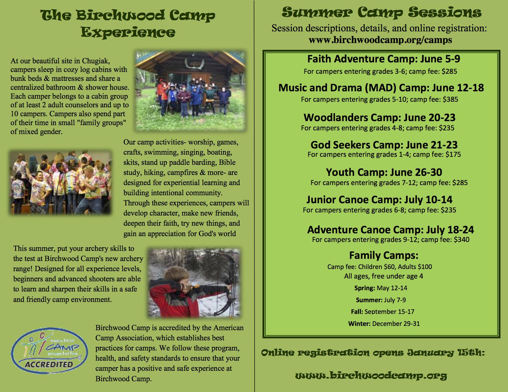 2017 birchwood camp brochure pg2