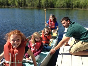 Boating at God Seekers Camp