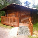 Sleeping Cabin with accessible ramp
