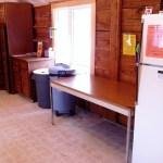 Caribou Cabin kitchen