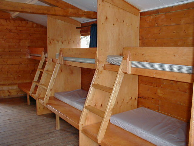 Plan your event birchwood camp for Cabin bed plans