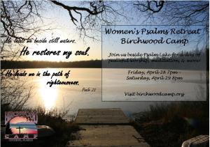 Women's Psalm Retreat 2017