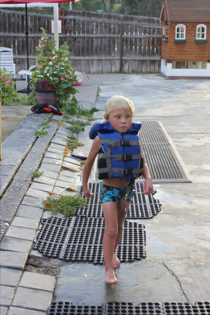 kid lifejacket