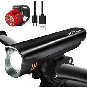 TopTrek front and rear lights