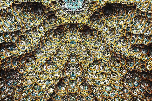 Инстаграм дня: Потолки иранских мечетей
