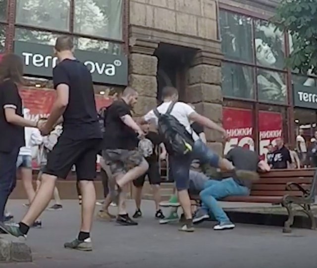 Hidden Camera How People React To Seeing Gays In Kyiv