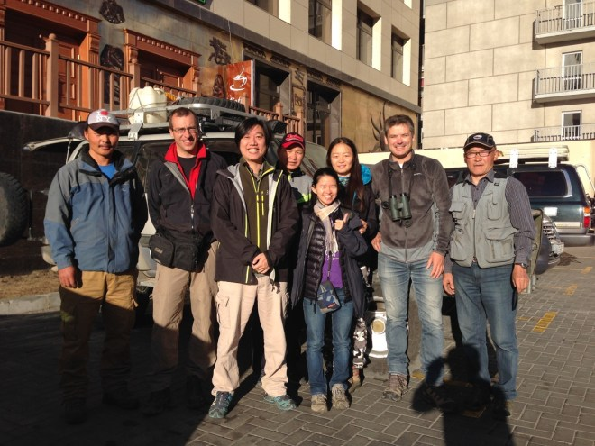 2015-05-30 Mongolia survey team