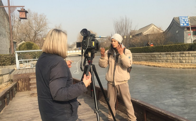 Illegal bird catching in Beijing covered by Reuters