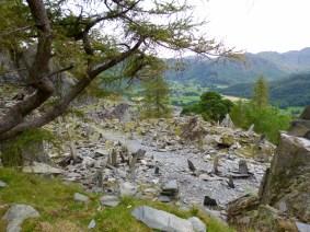 Strange stone arrangements on top of Castlecragg