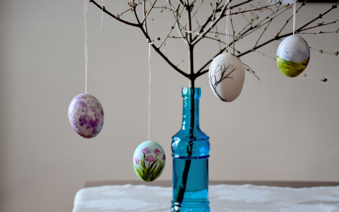Creating An Easter Tree at The Cultural Centre