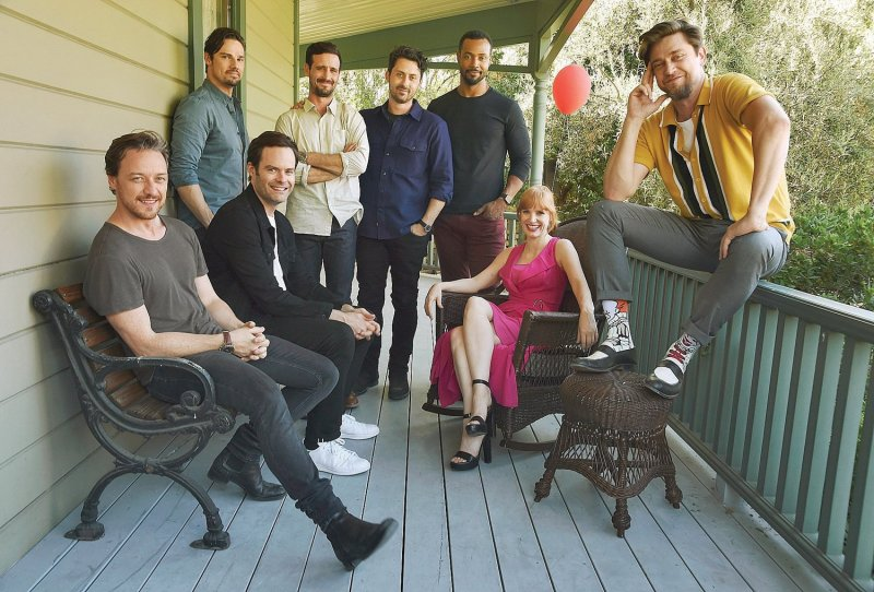 Jessica Chastain, Jay Ryan, James McAvoy, Bill Hader, Andy Bean, James Ransone, Isaiah Mustafa, Andy Muschietti