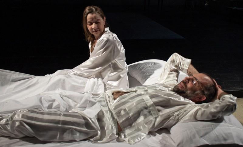 8 Sleepless di C. Churchill regia Lorenzo Loris nella foto Elena Callegari, Mario Sala, Ph Davide Pinardi