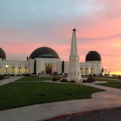 Griffith Observatory_sunset
