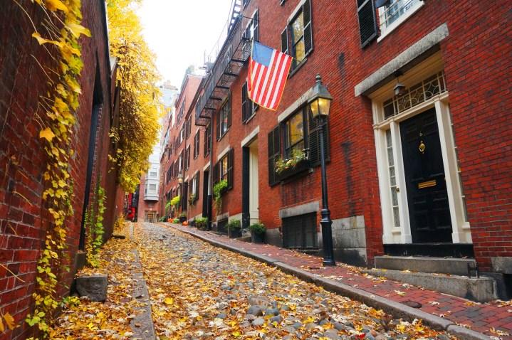 Boston la ville aux 1000 briques